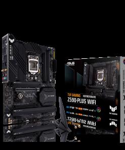 TUF GAMING Z590-PLUS WIFI-ASUS TUF GAMING Z590-PLUS WIFI Intel Z590 (LGA 1200) ATX Gaming Motherboard PCIe 4.0