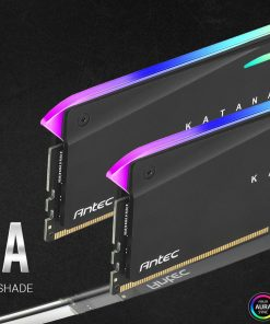 AM4U32168G11-7DKR-Antec 16GB Katana RGB (2x8GB) DDR4 3200MHz C16 16-18-18-38