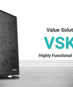 VSK1055-Antec VSK10 mATX with True 550w 80+ 85% Efficiency PSU