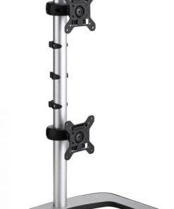 VFS-DV-Atdec VFS Vertical Freestanding Dual Monitor Arm