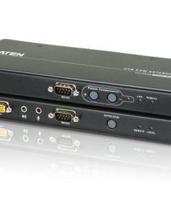 CE750A-AT-U-Aten KVM Extender Kit VGA/Audio Cat 5 Extender w/ Local Access