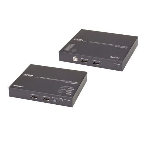 CE924-AT-U-Aten CE924 USB DisplayPort Dual View HDBaseT™ 2.0 KVM Extender (4K@100m- Single View)