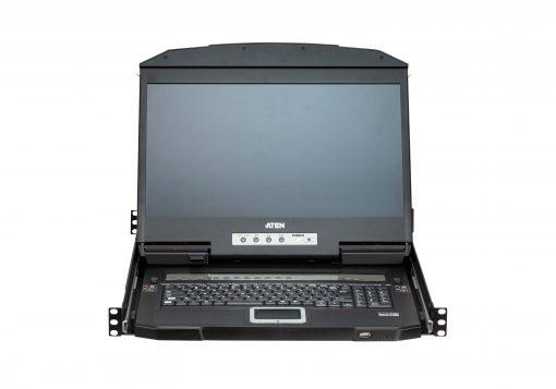 "CL3884NW-ATA-AU-Aten 18.5"" Short Depth 4-Port HDMI LCD KVM"