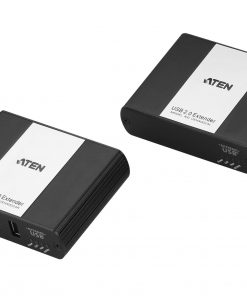 UEH4002A-AT-U-Aten USB 2.0 Cat 5 Extender with 4-Port Hub