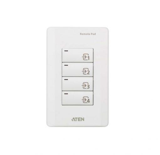 VPK104-AT-Aten VPK104 4-Key Contact Closure Remote Pad for VP1420/VP1421 Presentation Matrix Switches. Led lights