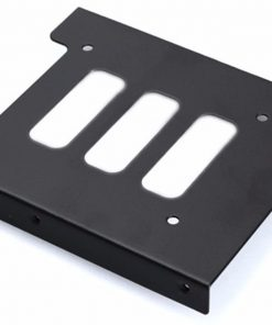 """ACCSSDBRACKET25-Aywun 2.5"""" to 3.5"""" Bracket Metal. Supports SSD.  Bulk Pack no screw.  *Some cases may not be compatible as screw holes may required to be drilled."""