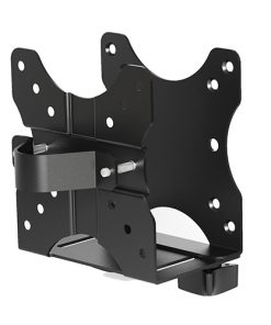 CPB-1-Brateck Adjustable Multifunctional Thin Client Mount (NUC) Weight Capacity 5kg Depth Range 17mm-70mm