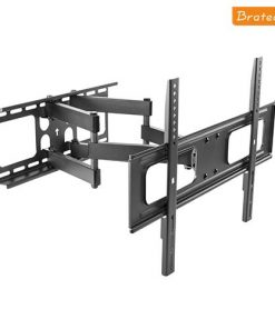 """LPA36-466-Brateck Economy Solid Full Motion TV Wall Mount for 37""""-70"""" Up to 50kgLED"""