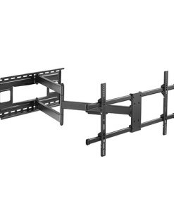 "LPA49-483XLD-Brateck Extra Long Arm Full-Motion TV Wall Mount For Most 43""-80"" Flat Panel TVs Up to 50kg VESA 200x200/300x200/300x300/400x200/400x300/MAX 800x400"