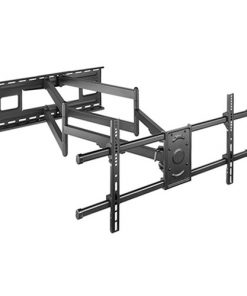 """LPA49-486XLD-Brateck Extra Long Arm Full-Motion TV Wall Mount For Most 43""""-90"""" Flat Panel TVs Up to 80kg VSEA 200x200/300x200/300x300/400x200/400x300/MAX 800x400"""