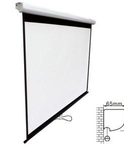 PSBA90-Brateck Projector Standard Auto-lock Manual Projection Screen-90''(2.0X1.12M) /(16:9 Ratio)
