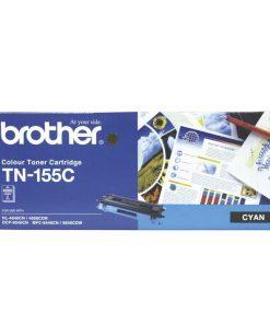 TN-155C-Brother TN-155C Colour Laser Toner - High Yield Cyan- HL-4040CN/4050CDN