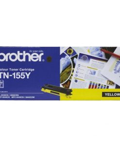 TN-155Y-Brother TN-155Y Colour Laser Toner - High Yield Magenta - HL-4040CN/4050CDN
