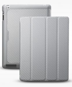 C-IP3F-CTWU-SS-Coolermaster  iPad 3 Wakeup Sil Folio Silver