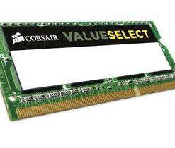 CMSO4GX3M1C1600C11-Corsair 4GB (1x4GB) DDR3L SODIMM 1600MHz 1.35V 11-11-11-28 204pin Notebook Memory