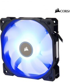 CO-9050081-WW-Corsair Air Flow 120mm Fan Low Noise Edition / Blue LED 3 PIN - Hydraulic Bearing