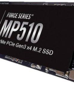 CSSD-F480GBMP510B-Corsair Force MP510 480GB NVMe PCIe SSD M.2 3480/2000 MB/s 490/120K IOPS 360TBW 1.8M hrs MTBF AES 256-bit Encryption 5yrs
