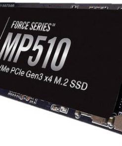 CSSD-F960GBMP510B-Corsair Force MP510 960GB NVMe PCIe SSD M.2 3480/3000 MB/s 700/280K IOPS 720TBW 1.8M hrs MTBF AES 256-bit Encryption 5yrs 1TB