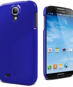 CY1165CXFOR-Cygnett Form Sapphire Blue Cas For Galaxy S4 Snap On Case