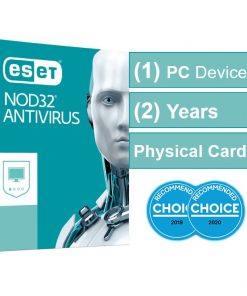 AV-ES-NOD32R2Y-ESET NOD32 Antivirus (Essential Protection) 1 Device 2 Years - Includes 1x Physical Printed Download Card