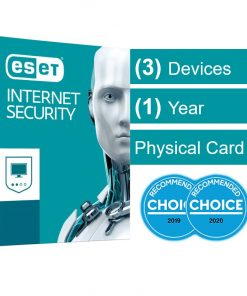 AV-ESISOEM-3D1Y-ESET Internet Security (Advanced Protection) OEM 3 Devices 1 Year Download - Includes 1x Physical Printed Download Card