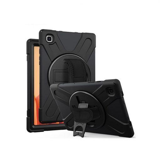 1001245-Rugged Black Case for Samsung Galaxy Tab S7 - Shockproof