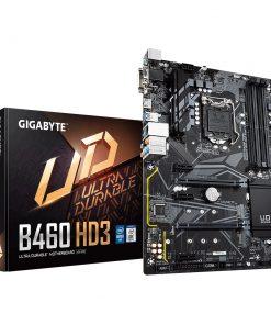GA-B460-HD3-Gigabyte B460 HD3 ATX Motherboard 4xDDR4 10th Gen LGA1200 2xM.2 6xSATA RAID LAN (1000 Mbit/100 Mbit) HDMI DVI-D CrossFire 3xPCIE (LS)