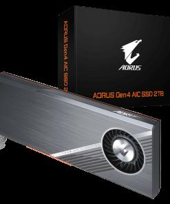 GP-ASACNE6200TTTDA-Gigabyte AORUS Gen4 AIC SSD 2TB - PCI-e 4.0