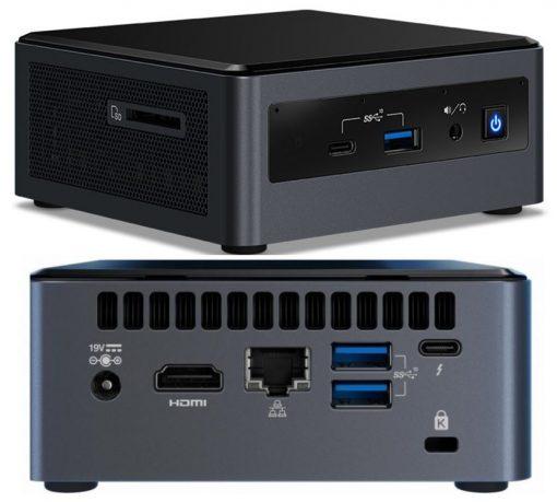 """BXNUC10I5FNHN4-Intel NUC i5-10210U 4.2GHz 2xDDR4 SODIMM 2.5"""" HDD M. SATA/PCIe SSD HDMI USB-C (DP1.2) 3xDisplays GbE LAN WiFi BT ~SYI-BXNUC10I5FNH4"""