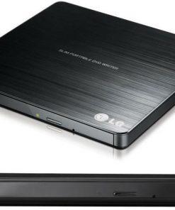GP60NB50-LG GP60NB50 8x Ultra Slim Portable External USB DVD Drive Burner - M Disc Silent Play Jamless Play