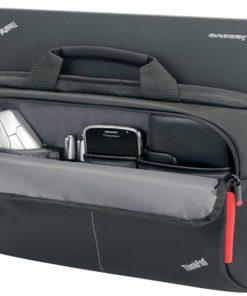 "4X40E77328-LENOVO 15.6"" Business Topload Notebook Laptop Bag Carry Case Black Colour Smooth Carry Handles Shoulder Strap Light Durable fit 16"" 15"" 14"" 13""(LS)"
