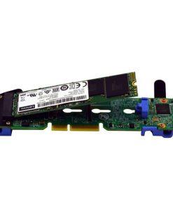 4Y37A09739-LENOVO ThinkSystem M.2 SATA 2-Bay RAID Enablement Kit for SR645