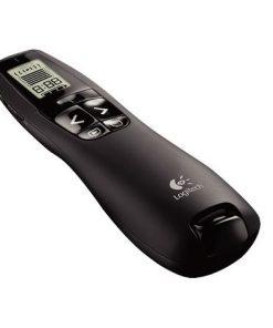 910-001358-Logitech R800 Laser Presentation Remote LCD display  time tracking 30m Range