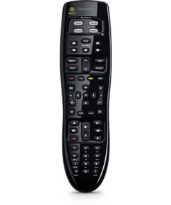 915-000244-Logitech Harmony 350 Remote Universal Remote Control Most compatible One-touch entertainment 5 channel presets(LS)