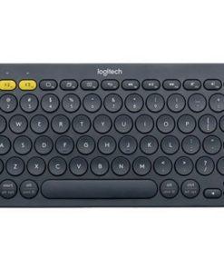920-007596-Logitech K380 Multi-Device Bluetooth Keyboard BlackTake-to-type Easy-Switch wireless10m Hotkeys Switch 1year Warranty