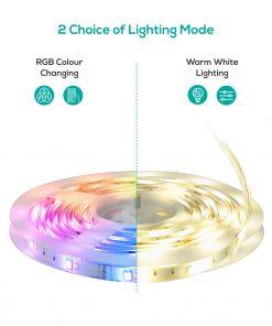 ACA-LS65RGBWW-5M-mbeat activiva 5m IP65 Smart RGB  Warm White LED Strip Lights