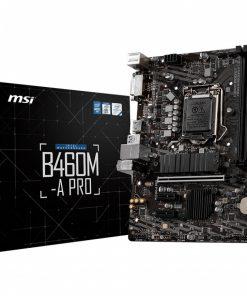 B460M-A PRO-MSI B460M-A PRO LGA1200 10th Gen mATX 2xDDR4 3xPCIE 1xM.2 RAID LAN 6xSATAIII 1xHDMI 1xDVI-D 6xUSB3.2 6xUSB2.0