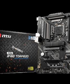 MAG B460 TORPEDO-MSI MAG B460 TORPEDO ATX MB 4xDDR4 2xM.2 6xSATAIII 2xPCIEx16 DP HDMI RAID Crossfire