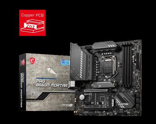 MAG B560M MORTAR-MSI MAG B560M MORTAR Intel mATX Motherboard