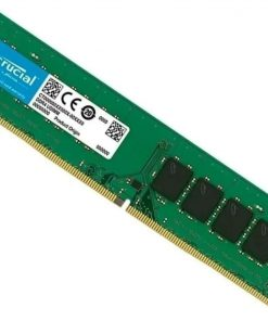 CB8GU2666-Crucial 8GB (1x8GB) DDR4 UDIMM 2666MHz CL19 Single Ranked Desktop PC Memory RAM Basic Bulk Pack