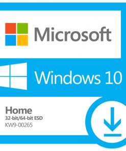 KW9-00265-Microsoft Windows 10 Home 32bit/64bit - Digital ESD Download