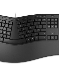 LXM-00015-Microsoft Wired Ergonomic Keyboard USB with emojis