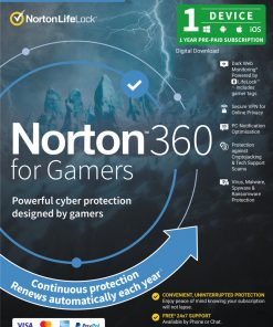 21415453-Norton 360 Security - Gamer Edition