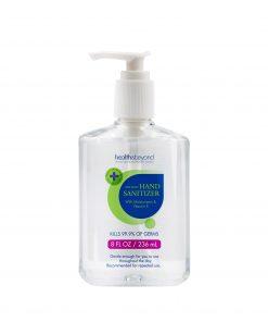 HBHS-236ML-Health  Beyond Instant Hand Sanitiser Gel 236ml Pump bottle with moisturizers  Vitamin E