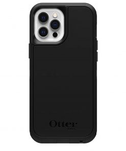 77-80946-Otterbox Defender Series XT Case with MagSafe for Apple iPhone 12 and iPhone 12 Pro - Black