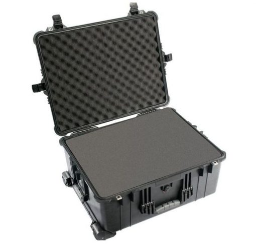 1610-020-110-Pelican 1610AB Large Case With Foam - Black