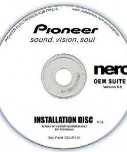 IDDVR110-Pioneer Software Nero Suite 3 OEM Version 6.6 - Play Edit Burn  Share Blu-ray  3D contents - PowerDVD10 InstantBurn5.0 Power2Go8.0 PowerProducer5.5