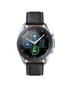 """SM-R840NZSAXSA-Samsung Galaxy Watch3 Bluetooth (45mm) Mystic Silver - 1.4"""" Super AMOLED Display"""