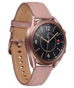 "SM-R850NZDAXSA-Samsung Galaxy Watch3 Bluetooth (41mm) Mystic Bronze -1.2"" Super AMOLED Display"