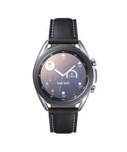 """SM-R850NZSAXSA-Samsung Galaxy Watch3 Bluetooth (41mm) Mystic Silver - 1.2"""" Super AMOLED Display"""